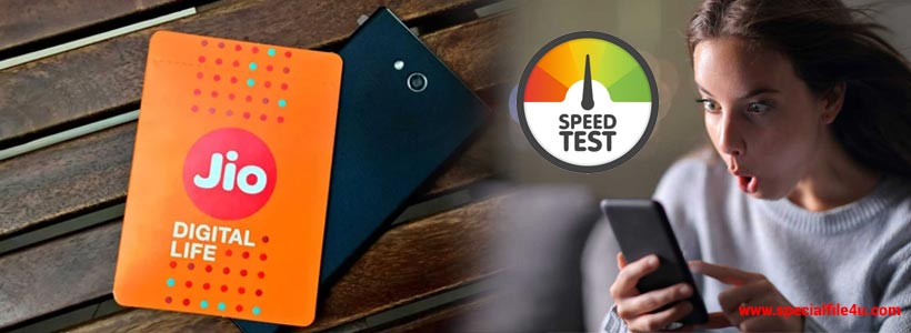 JIO increase internet speed